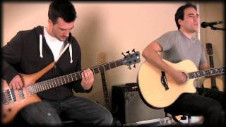 getlinkyoutube.com-Kings of Leon - Use Somebody Acoustic Cover w/bass in HD High Definition 720p