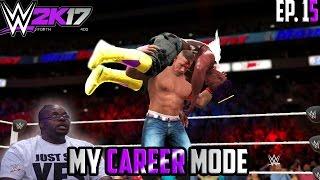getlinkyoutube.com-BEST WWE MATCH EVER WITH JOHN CENA?!! - WWE 2K17 My Career Mode (Part 15)