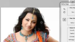 getlinkyoutube.com-Photoshop Tutorial Removing Background &  Hair Selections with Masks in tamil