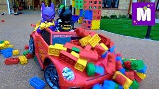 Гигантский ЛЕГО Бэтмен Крушим конструктор машиной THE LEGO BATMAN MOVIE GIANT BUILDING bricks