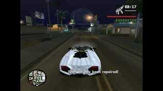 getlinkyoutube.com-Bugatti Veyron, Lamborghini Reventon, Nissan Skyline - GTA: San Andreas