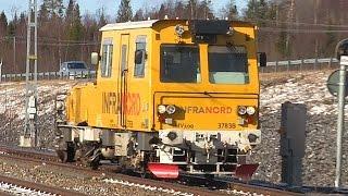 getlinkyoutube.com-Infranord Mätdressin IMV100 2461B & VR Track TKA7 180.