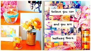 DIY ROOM DECOR: Wall art, cheap & cute projects and more!