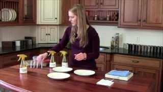 getlinkyoutube.com-Norwex Chicken Demo; Enviro Cloth Vs Vinegar, All Purpose Cleaner