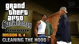 GTA San Andreas Remastered - Mission #4 - Cleaning the Hood (Xbox 360 / PS3)