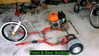 getlinkyoutube.com-Production of motorized Drift trike .Part1.