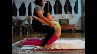 getlinkyoutube.com-Training contortion