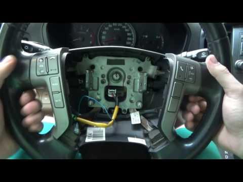 Как снять руль на Hyundai Grand Starex