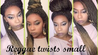 getlinkyoutube.com-Outre X Pression Lace Front Wig- Reggae Twists Small