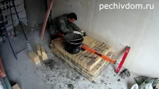 getlinkyoutube.com-Камин Своими Руками, Камин из Кирпича
