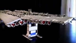 getlinkyoutube.com-Lego Super Star Destroyer Custom Model