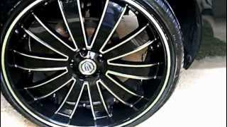08 Black Impala LT On Versante 225 22's