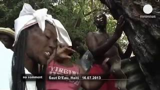 getlinkyoutube.com-Traditional voodoo ceremony in Haiti - no comment