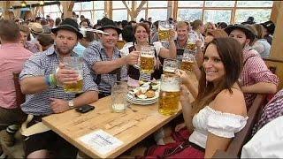 Almanya'da Oktoberfest Şöleni