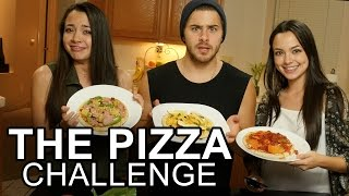 getlinkyoutube.com-THE PIZZA CHALLENGE - Merrell Twins & Dominic DeAngelis