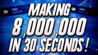 getlinkyoutube.com-Making 8,000,000 in 30 SECONDS! Selling 99 OVR Team! - Madden Mobile 16