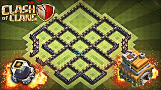 getlinkyoutube.com-Clash of Clans - TH 7 Farming Base - NO BARB KING!!!