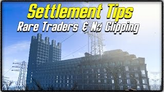 getlinkyoutube.com-Fallout 4 Settlement Tips #4 - RARE TRADERS, NO CLIPPING & HOW TO SEE SETTLER'S JOBS!