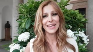 Intervista ad Adriana Volpe su Giancarlo Magalli e Mezzogiorno in Famiglia
