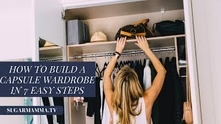 getlinkyoutube.com-How To Build A Capsule Wardrobe - 7 Easy Steps