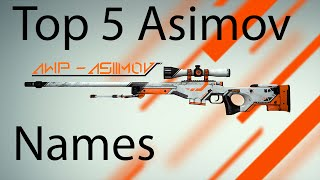 getlinkyoutube.com-Top 5 Awp Asiimov Names [CSGO]