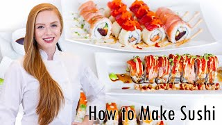getlinkyoutube.com-How to Make Sushi: Easy Step-by-Step Instructions