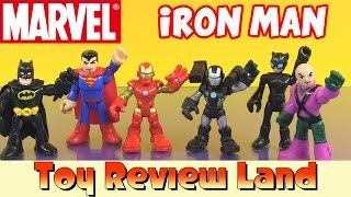 getlinkyoutube.com-Marvel Super Hero Adventures, Iron Man & War Machine, with Superman and Batman!