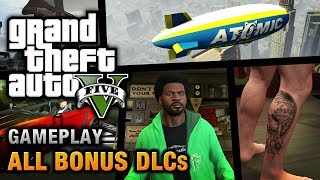 getlinkyoutube.com-GTA 5 - All Bonus DLCs