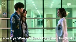 getlinkyoutube.com-Jeon Hye Won - A Good Day Like This (Instrumental)