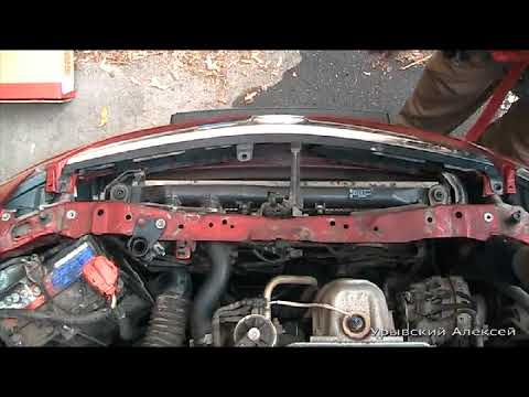 Замена радиатора на Honda Civic седан VIII