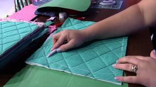 getlinkyoutube.com-Mulher.com 22/01/2015 Bolsa em patchwork por Regina Heitor Parte 1