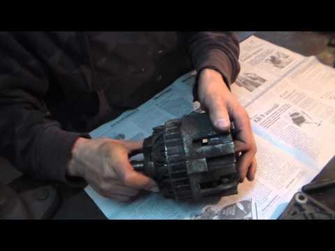 Замена подшипников генератор Ланос № 33
