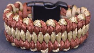 getlinkyoutube.com-DIY the Wide Dragons Tongue Paracord Bracelet - BoredParacord