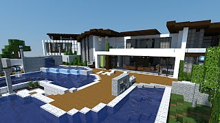 getlinkyoutube.com-Minecraft - Maison de MAKAPUCHII !!