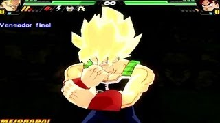 getlinkyoutube.com-Dragon Ball Z Budokai Tenkaichi 3 Version Latino *Bardock SSJ vs Goku SSJDios* MOD