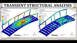getlinkyoutube.com-ANSYS Transient Analysis | ANSYS Workbench Bridge Structure Analysis | GRS |