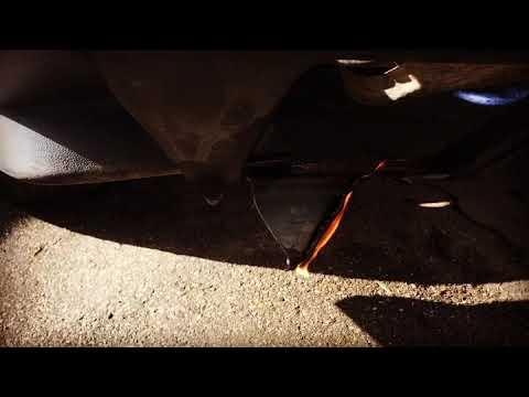 Поджог автомобиль Иж Ода 2126