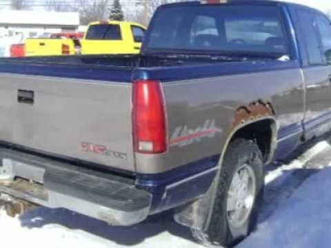 1994 gmc sierra 1500 pickup truck 1994 gmc 1500 pickup for Maxton motors of montpelier