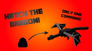 getlinkyoutube.com-Minecraft DragonHatch [Only One Command] - Hatch the EnderDragon!