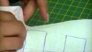 getlinkyoutube.com-How To Do Smocking On Fabric By Rose