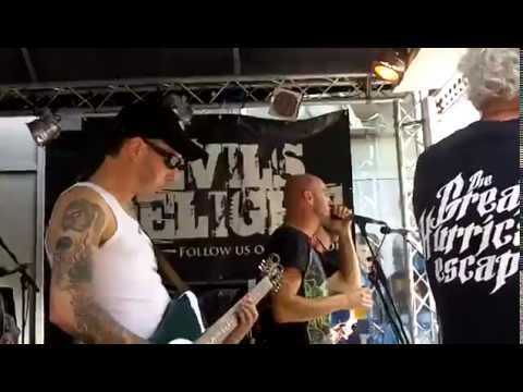 4 - Devil's Delight - Got my mojo working, live op Big Rivers 2014