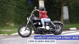 getlinkyoutube.com-Garagem Moto: Harley-Davidson Street Bob (com Eliana Malizia)