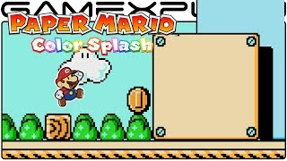 NES's Super Mario Bros. 3 in Paper Mario: Color Splash (1080p Gameplay)