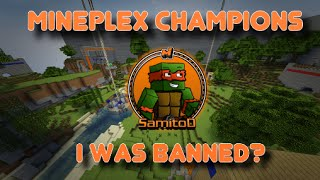 getlinkyoutube.com-Mineplex Champions: I got banned & Funny Talks!