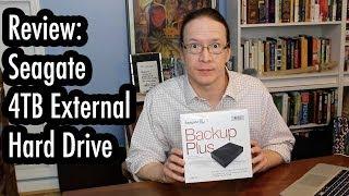 getlinkyoutube.com-Review: Seagate Backup Plus 4TB External Hard Drive