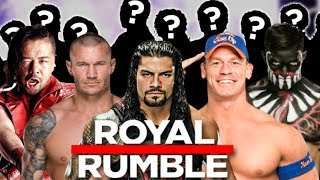WWE Royal Rumble 2018: Predicting 13 Wrestlers Not Yet Announced
