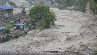 getlinkyoutube.com-Myagdi Kaligandaki River  थुनिएकाे कालिगण्डकी यसरी उर्लिएर अाएकाे थियाे