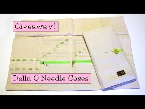 Winners Announced!  Della Q Needle Cases Giveaway