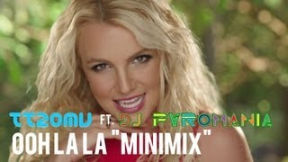 "Rihanna vs will.i.am ft. Justin Bieber vs Ke$ha vs Kerli - Ooh La La ""Minimix"" (ft. DjPyromania)"