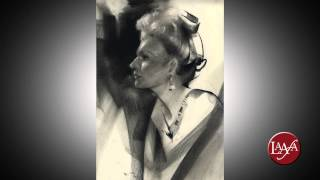 getlinkyoutube.com-Nathan Fowkes - Drawing The Portrait In Charcoal Online Course